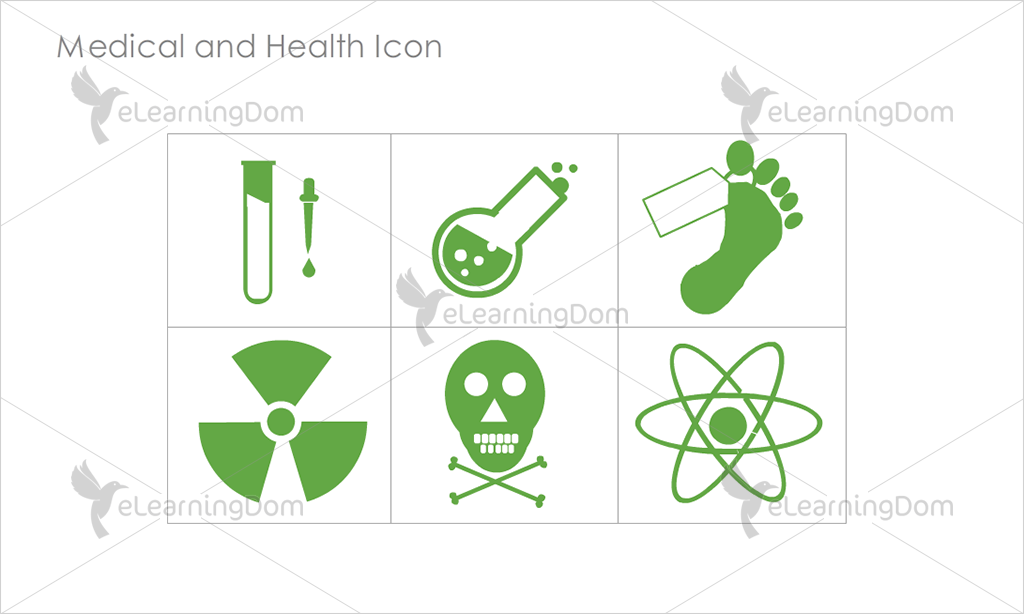 Medical and Health Icons - Set 7