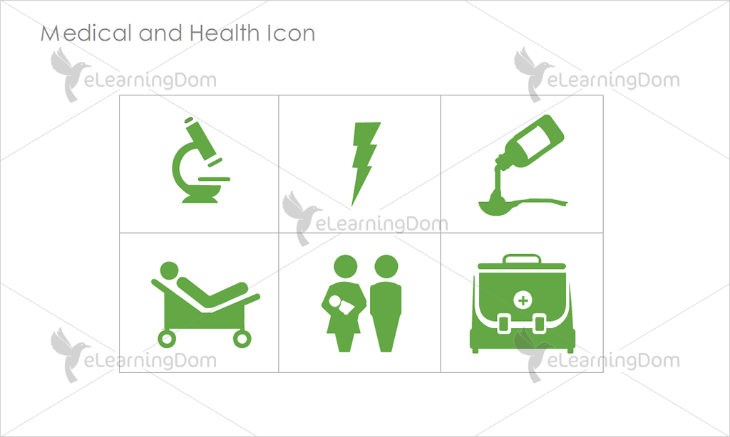 Medical and Health Icons - Set 8