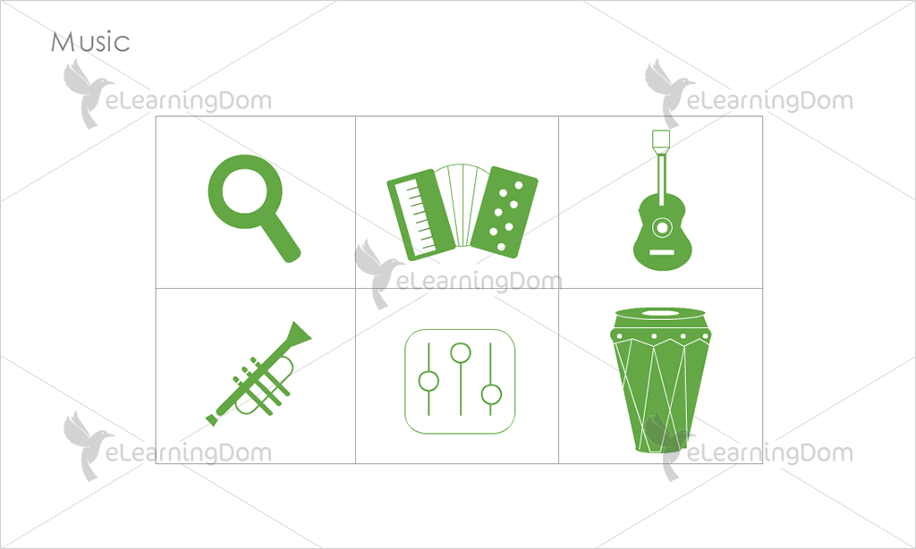 Music Icons - Set 2