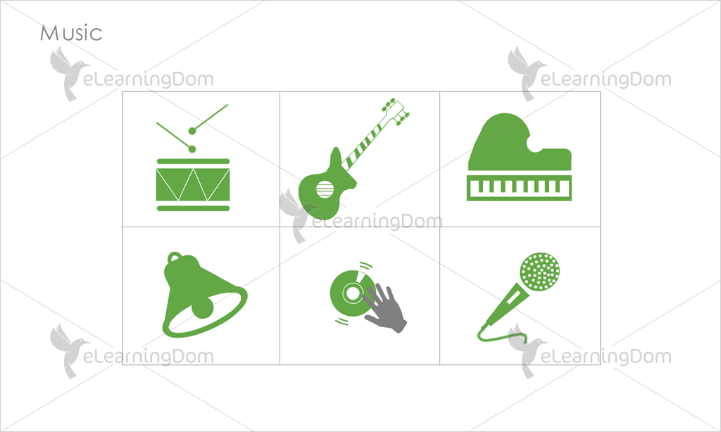 Music Icons - Set 3