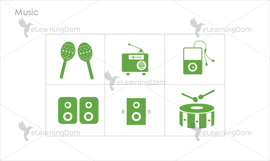 Music Icons - Set 4
