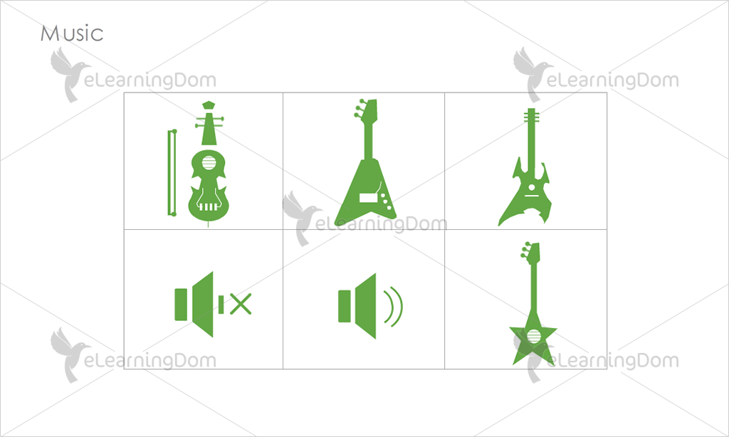 Music Icons - Set 5