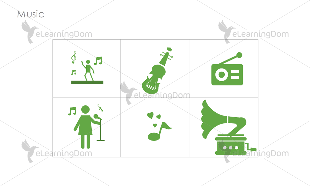 Music Icons - Set 6