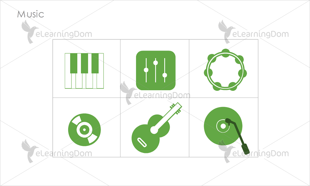 Music Icons - Set 7