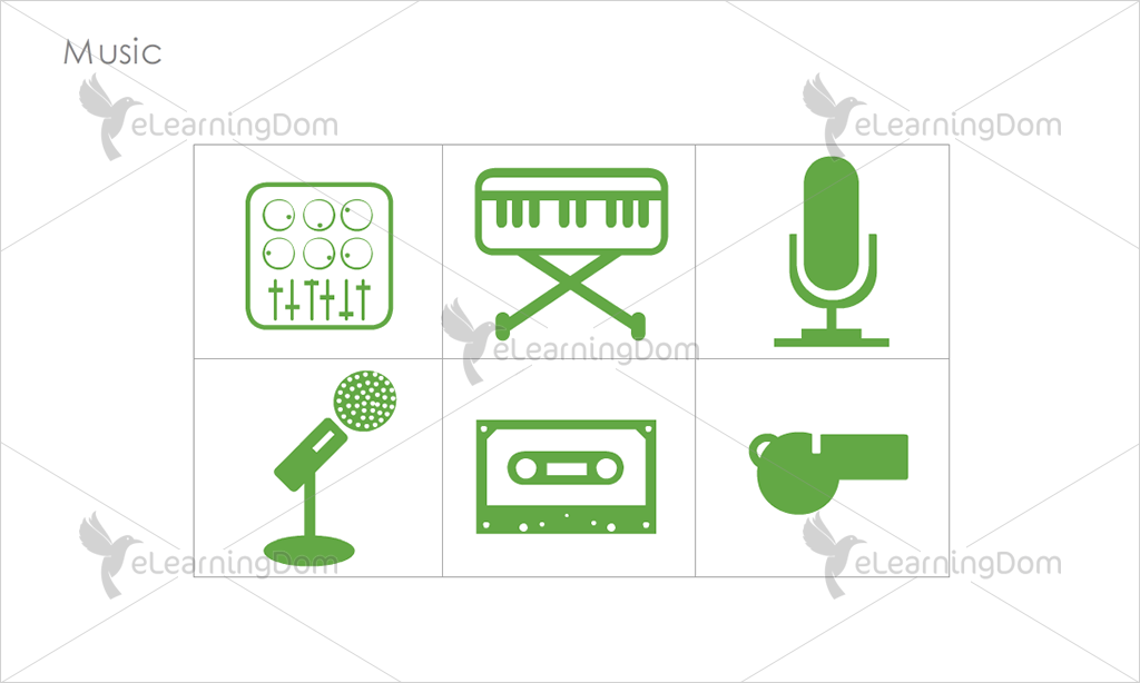 Music Icons - Set 8