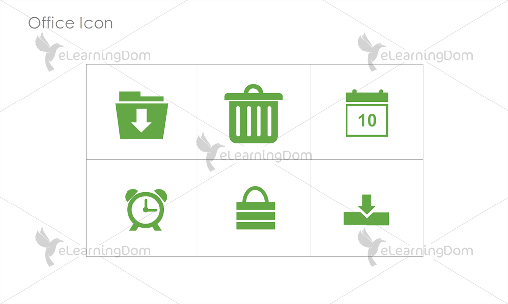Office Icons - Set 3