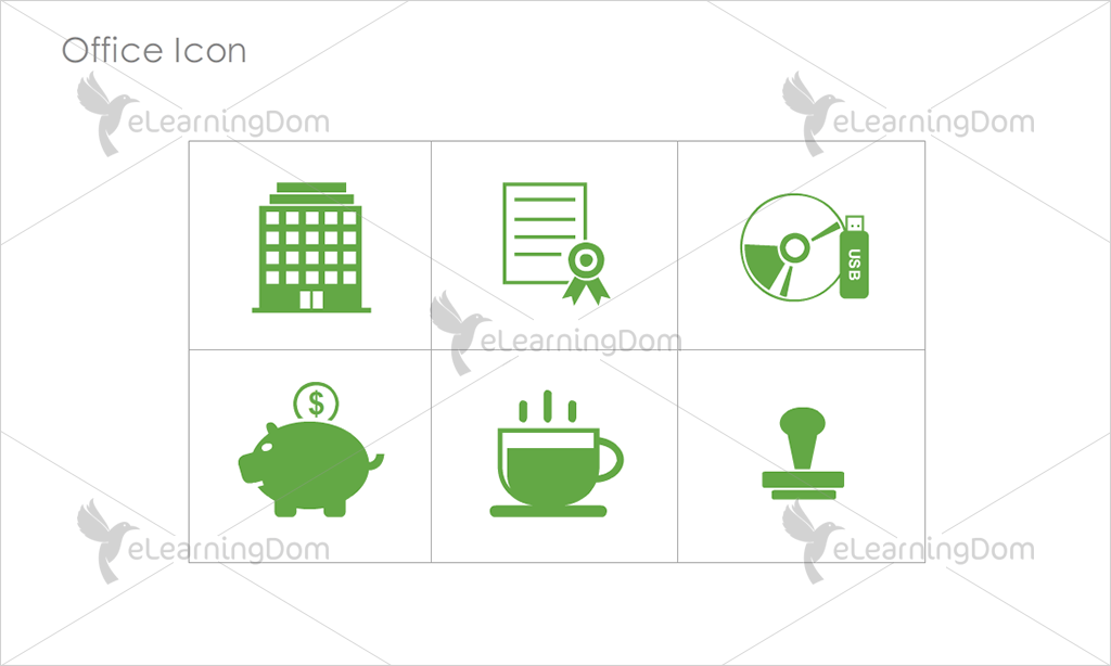 Office Icons - Set 4
