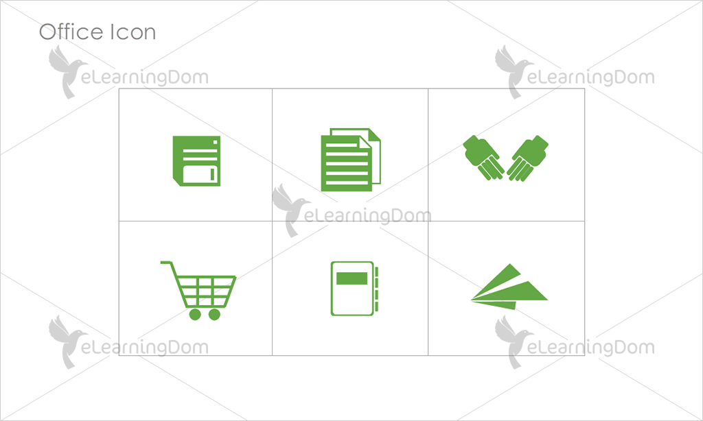 Office Icons - Set 5