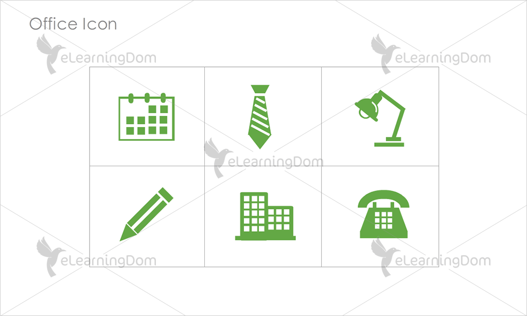 Office Icons - Set 6