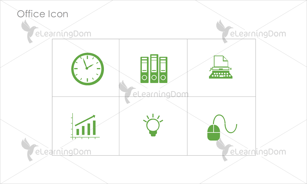 Office Icons - Set 9
