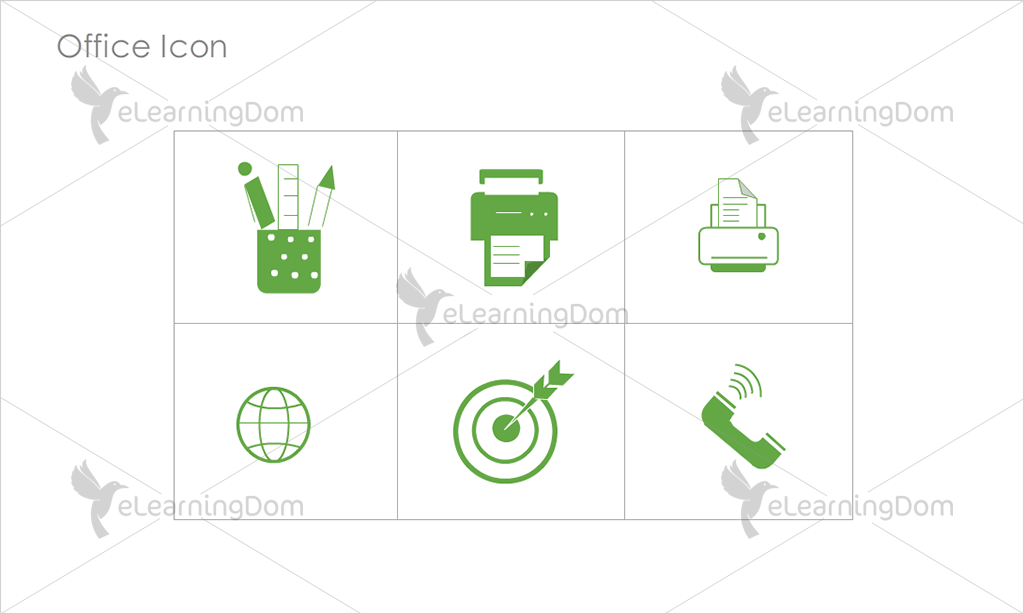 Office Icons - Set 15