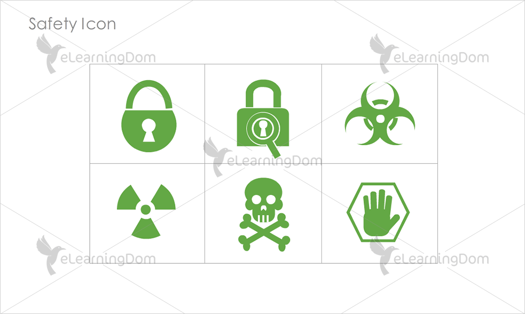 Safety Icons - Set 3