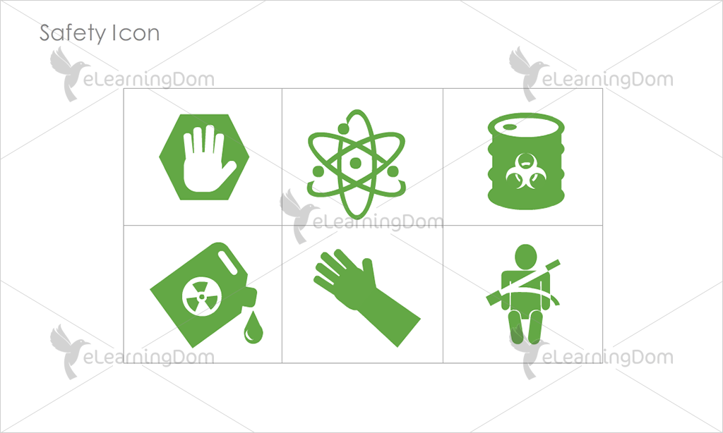 Safety Icons - Set 4