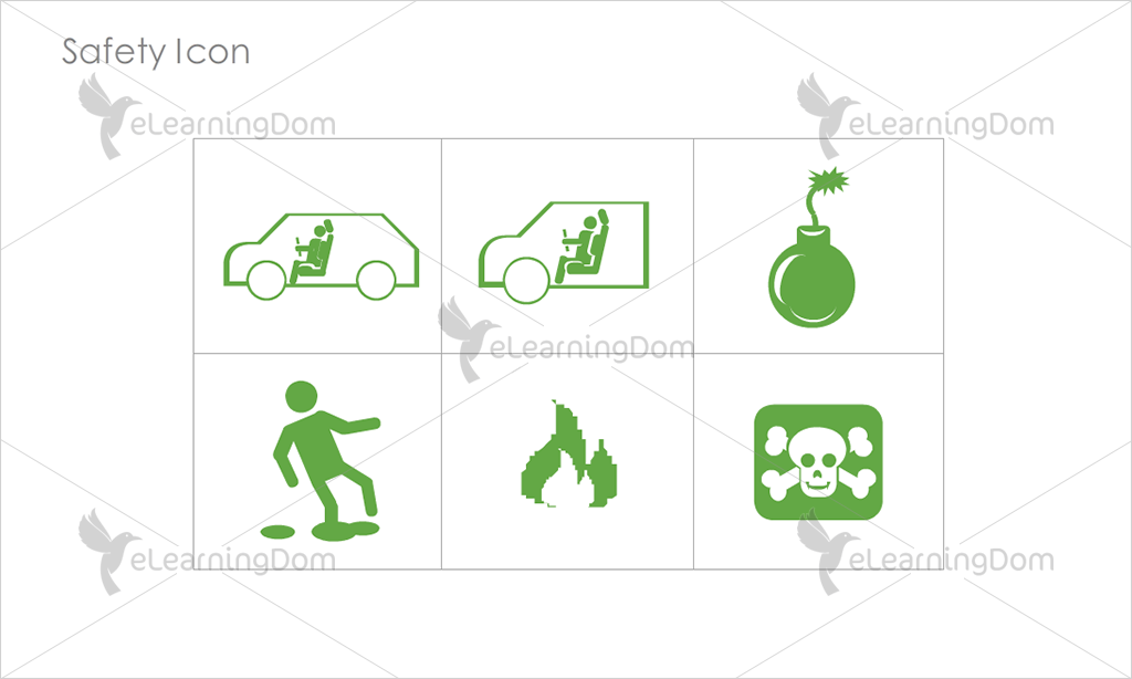Safety Icons - Set 6