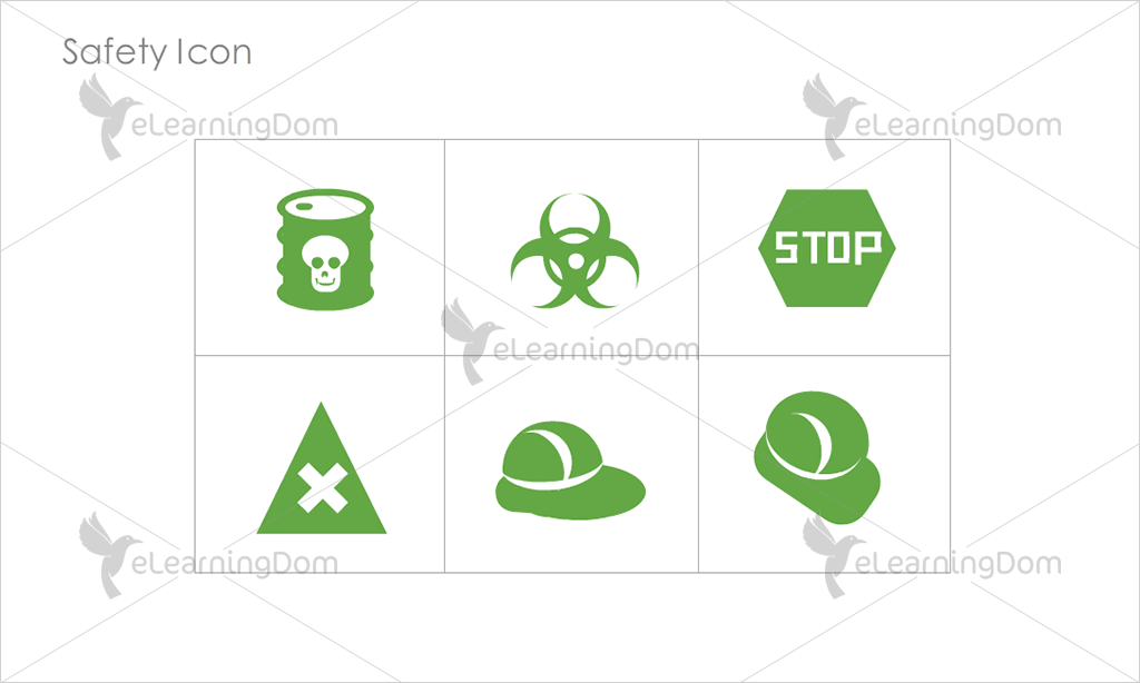 Safety Icons - Set 8