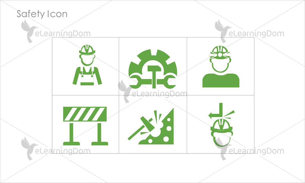 Safety Icons - Set 9