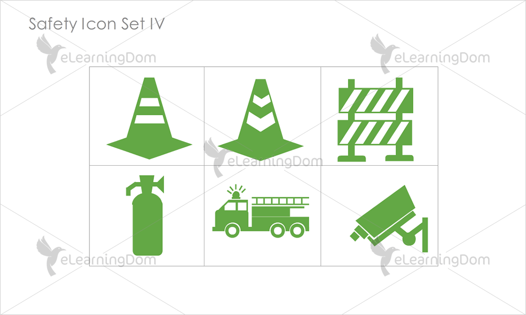 Safety Icons - Set 11