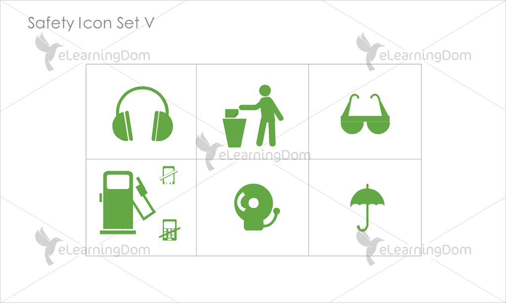 Safety Icons - Set 12