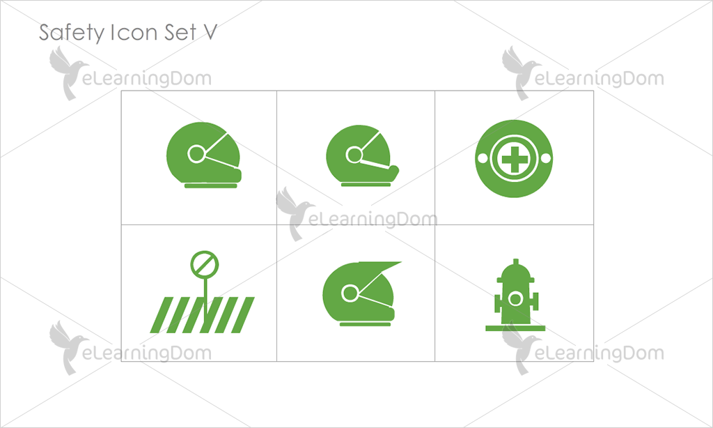 Safety Icons - Set 13