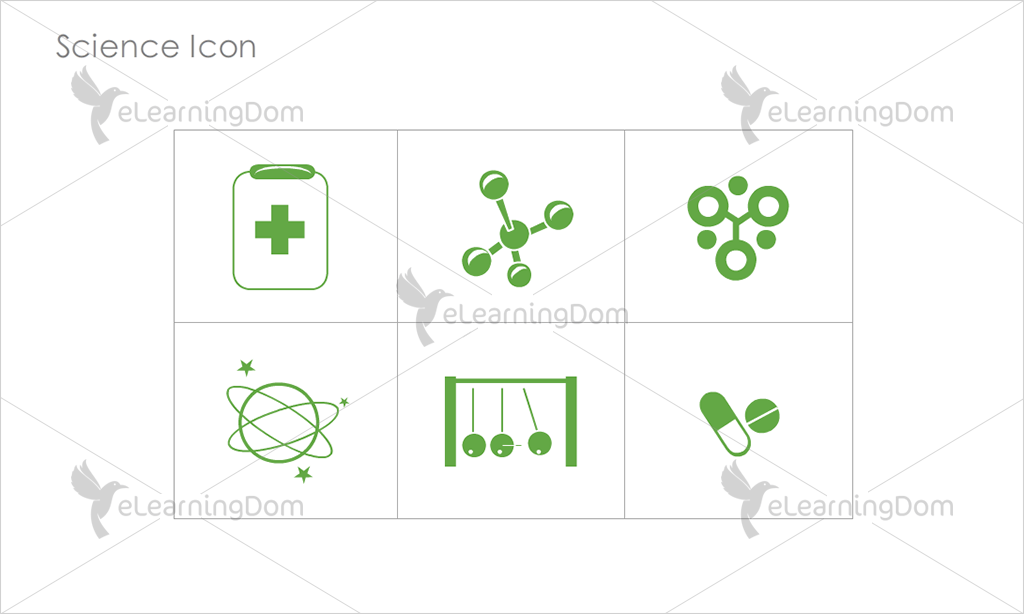 Science Icons - Set 6