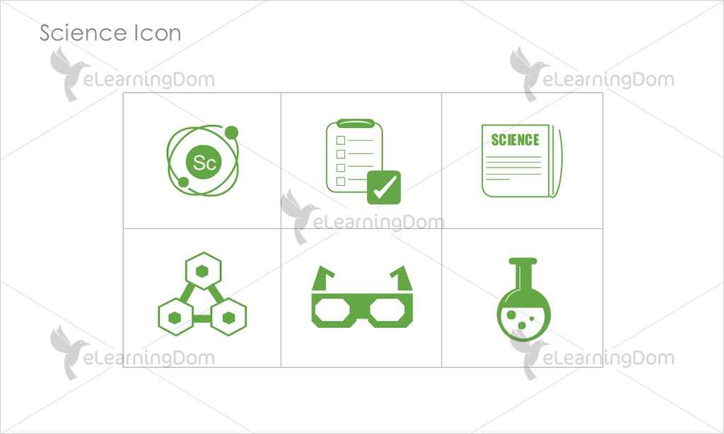 Science Icons - Set 7