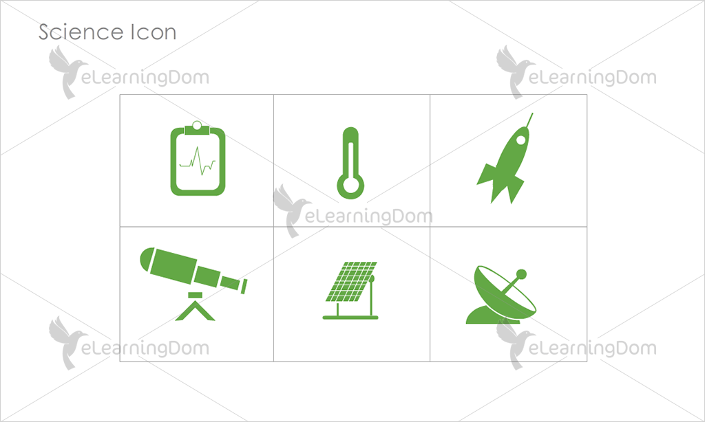 Science Icons - Set 9