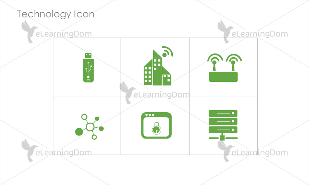 Technology Icons - Set 2