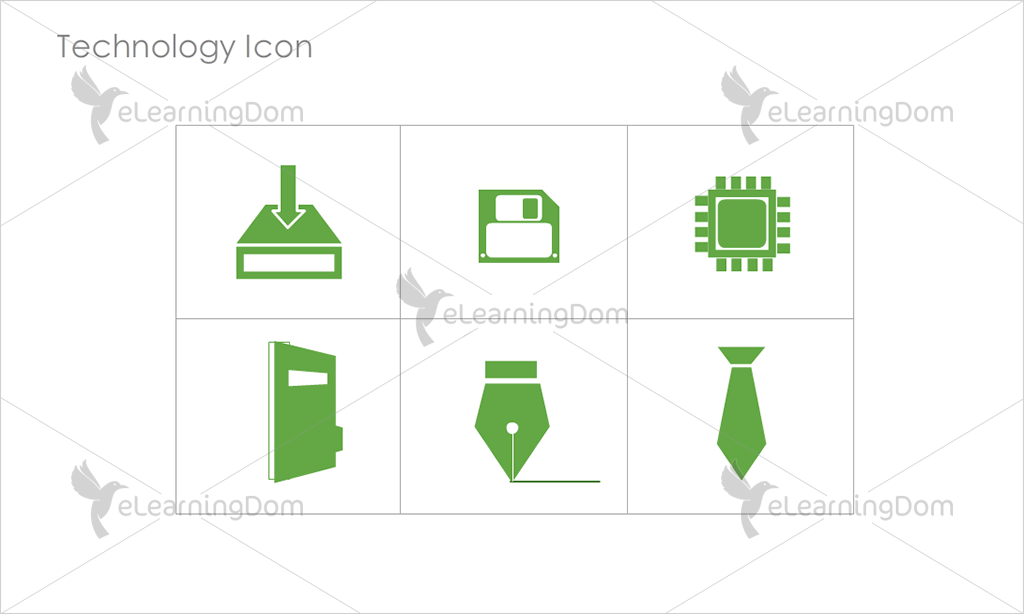 Technology Icons - Set 3