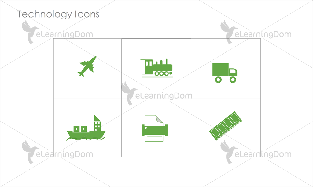 Technology Icons - Set 4