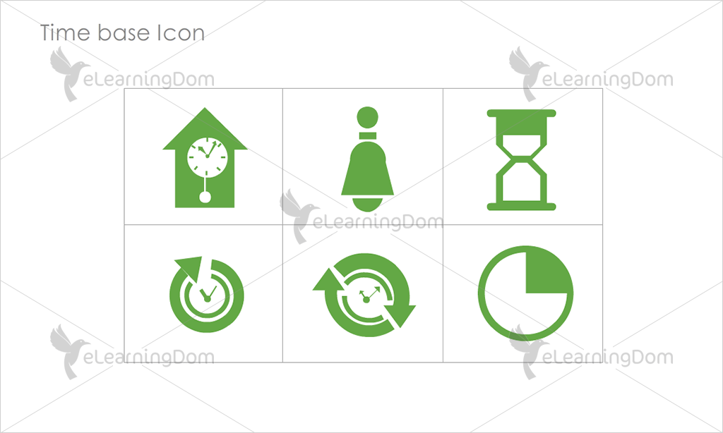 Time base Icons - Set 2
