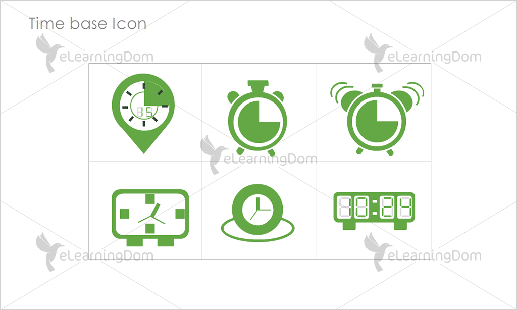 Time base Icons - Set 3