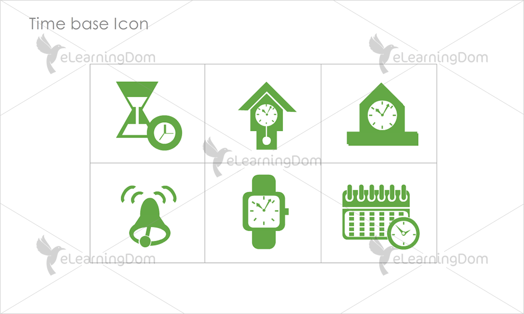 Time base Icons - Set 4