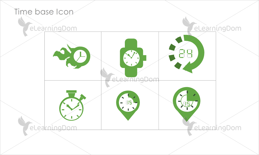 Time base Icons - Set 5