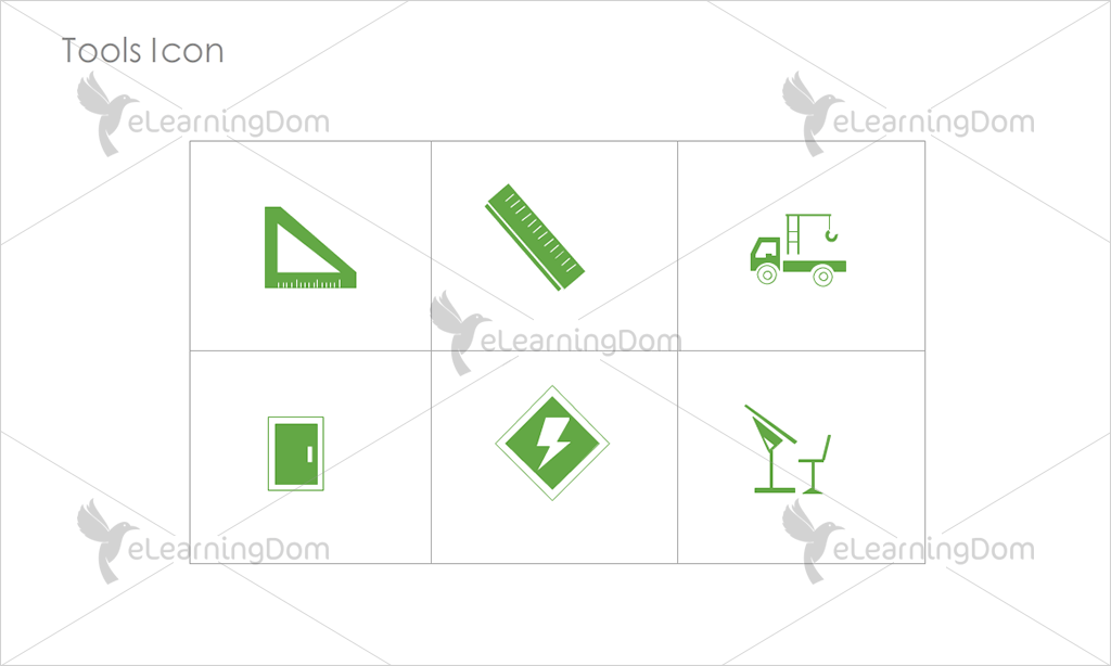 Tools Icons - Set 12