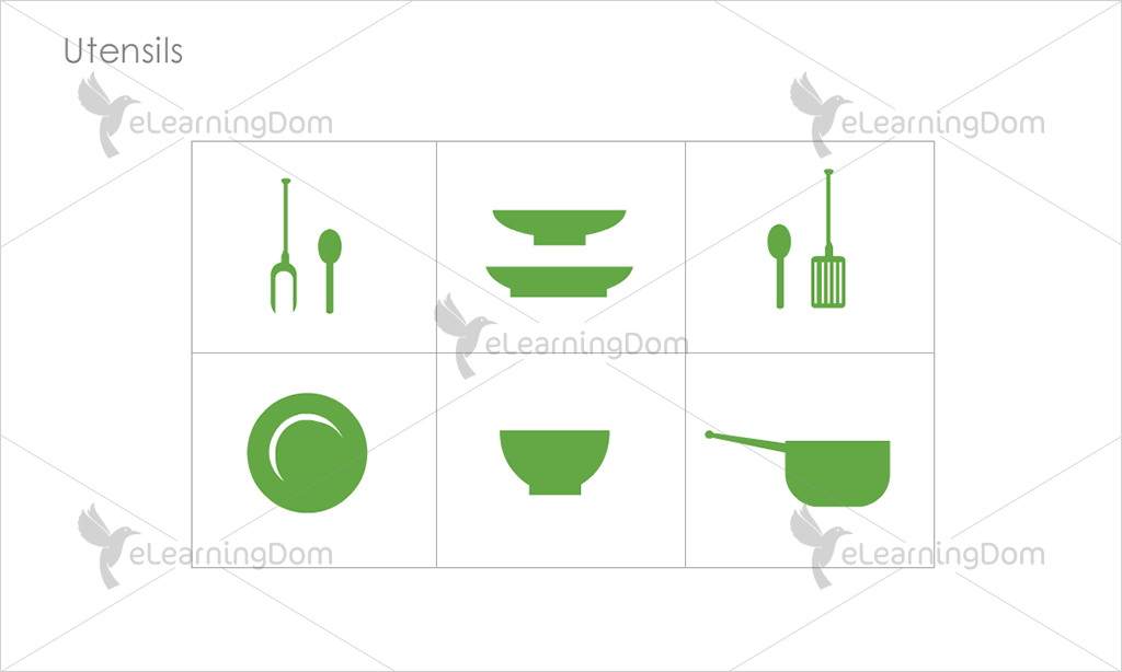 Utensils Icons - Set 2