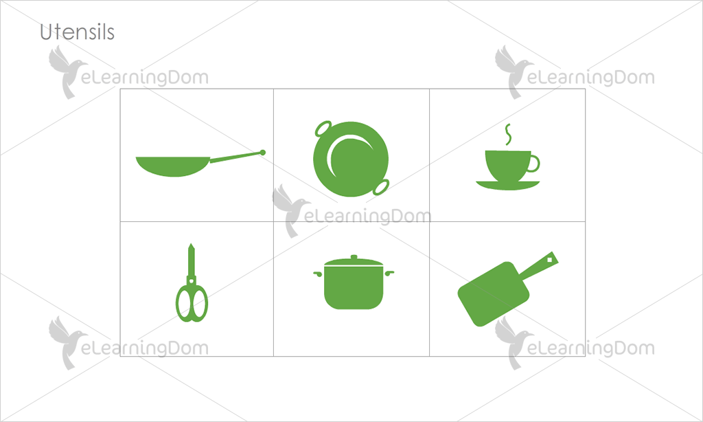 Utensils Icons - Set 3