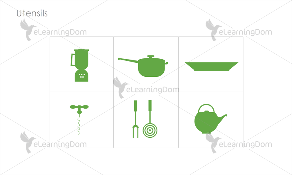 Utensils Icons - Set 4