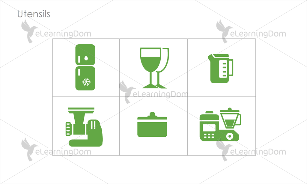 Utensils Icons - Set 5