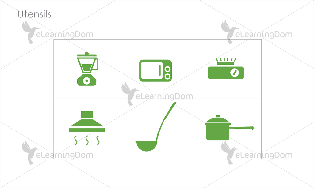 Utensils Icons - Set 6