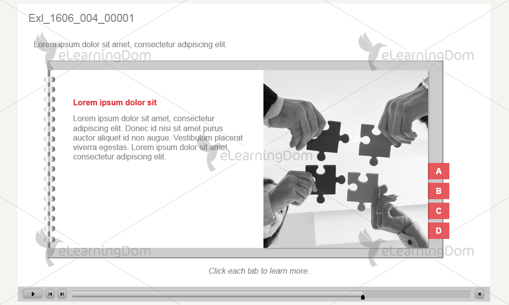 Flipbook with Clickable Bookmarks (Captivate)