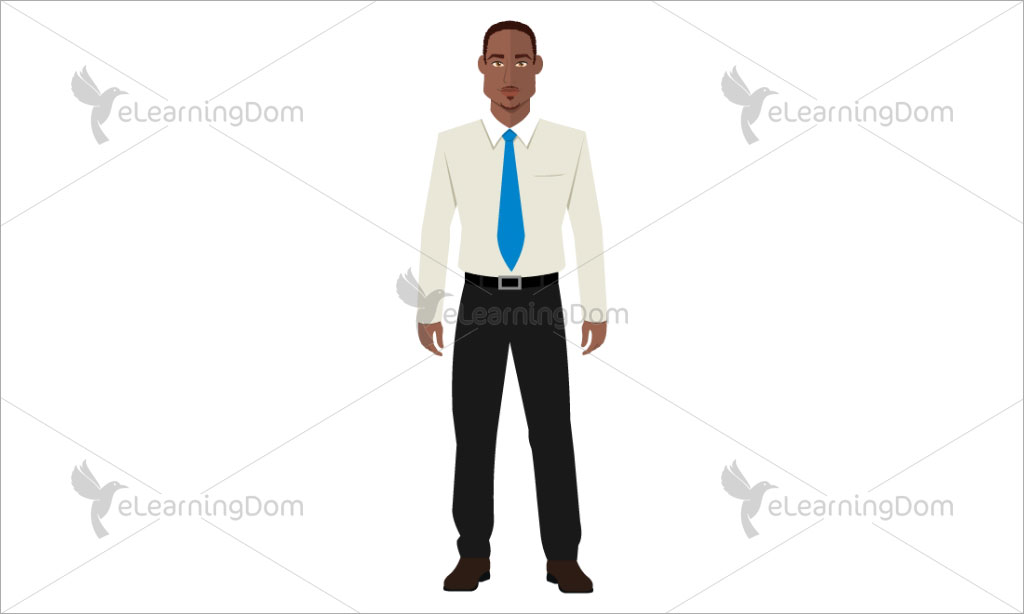 Businessman Dressed in Formal Attire