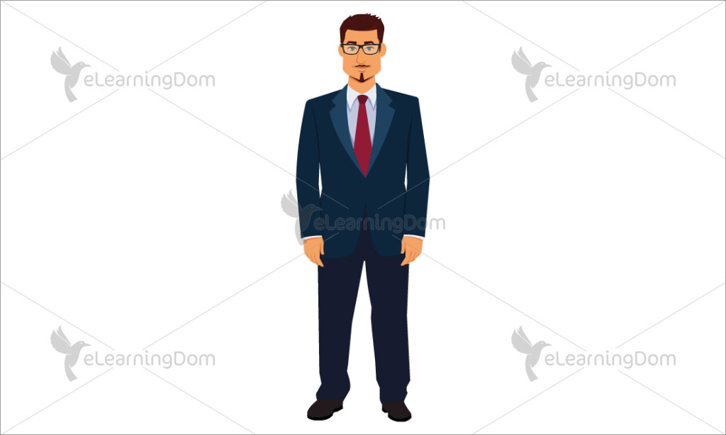 African-American Businessman Standing